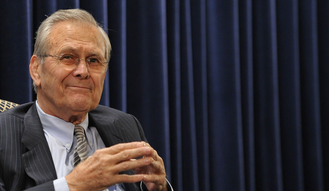 Review: 'The Unknown Known: The Life and Times of Donald Rumsfeld' dir. Errol Morris